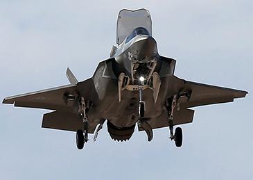 驻日美军F35撞鸟受损,200万美元