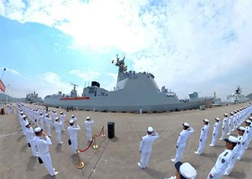 第38批护航编队起航奔赴亚丁湾