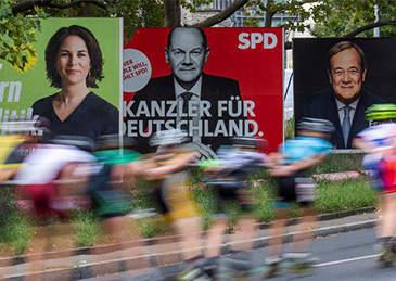 """德国大选紧张进行中,谁将开启""""后默克尔时代""""?"""