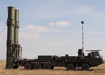 俄军S-500系统第一旅拱卫首都