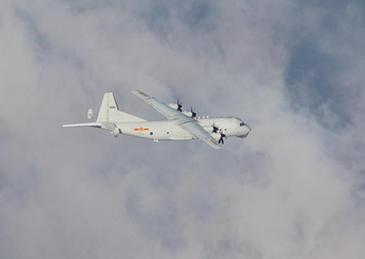 """解放军3架次军机再次进入台湾岛""""西南空域"""""""