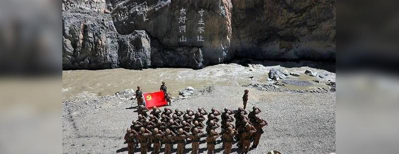 """中国通过陆地国界法,印度""""对号入座"""""""